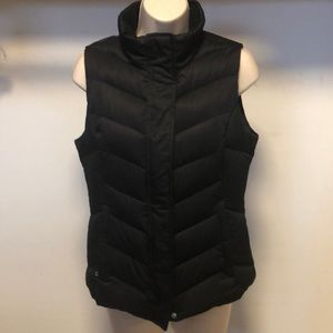 Eddie Bauer black down vest
